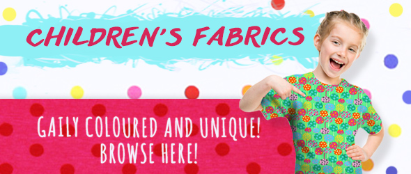 Command the children to look for fabrics at for Children s jersey fabric uk