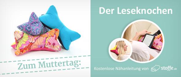 Kostenlose Nähanleitung von stoffe.de für den Muttertag