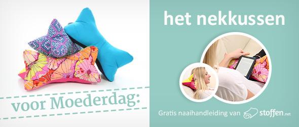Gratis naaihandleiding van stoffen.net voor Moederdag
