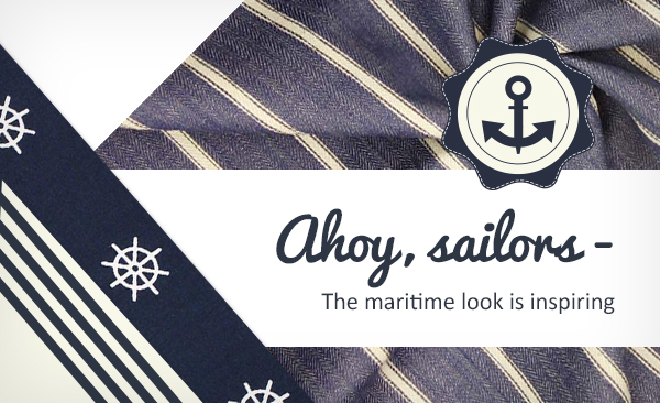 Here, you'll find maritime-themed apparel fabrics for your sewing projects.
