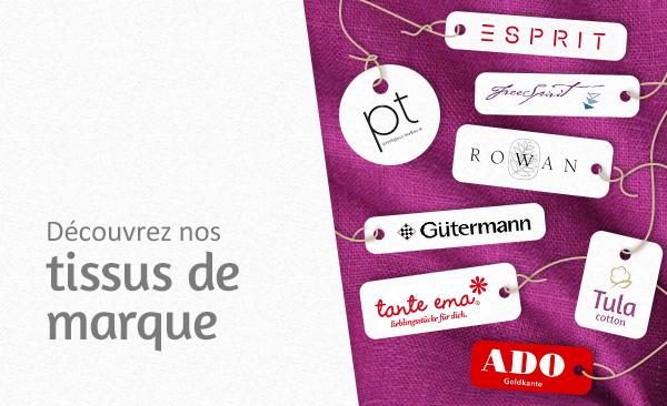 Des tissus de décoration et d'habillement des meilleures marques sur tissus.net.