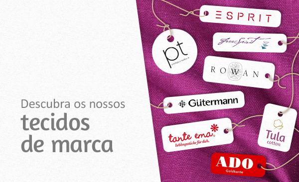 Tecidos para decoração e vestuário das principais marcas na tecidos.com.pt