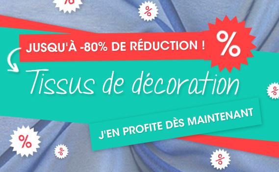 Jusqu'à 80% de réduction - tissus de décoration sur tissus.net