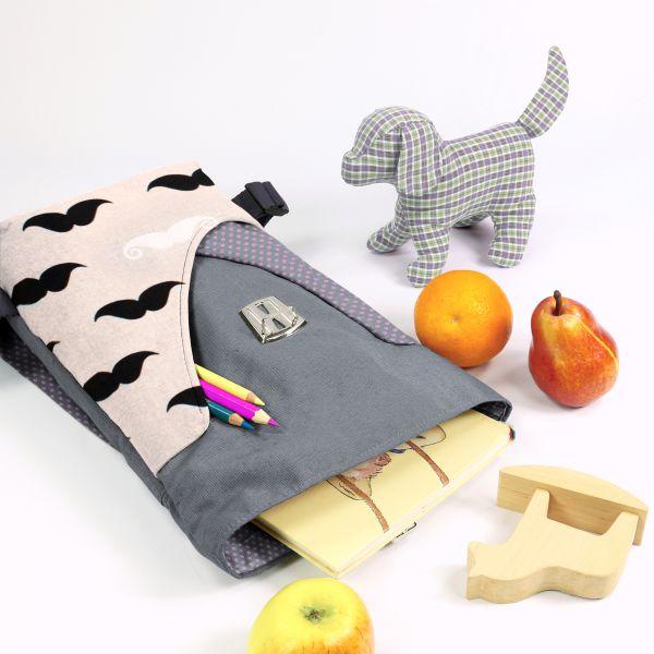 In Kooperation mit Frau Scheiner – das Nähpaket Kindergartenrucksack