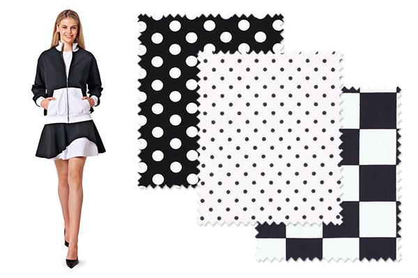 Modetrends 2015: Schwarz-Weiß