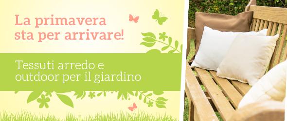 Regala un'aria nuova ai mobili del giardino con i tessuti da esterni di tessuti.com