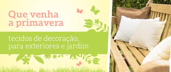 Abrilhante os seus móveis do jardim - com coberturas feitas com os tecidos para exteriores da tecidos.com.pt