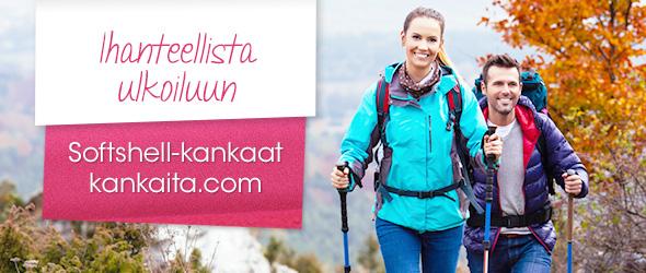 Softshell-kankaita monissa väreissä kankaita.comissa