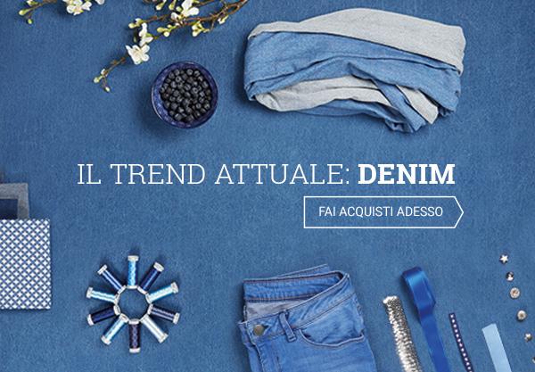 Cuci il tuo paio di jeans. Con i tessuti e gli accessori di tessuti.com