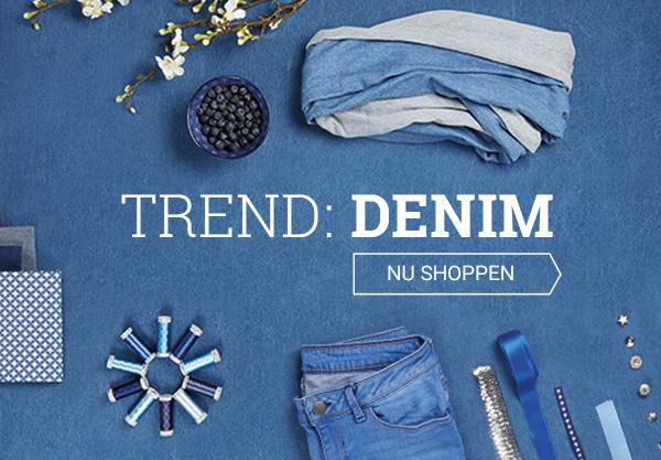 Naai uw eigen jeans - met stof en naaigerei van stoffen.net