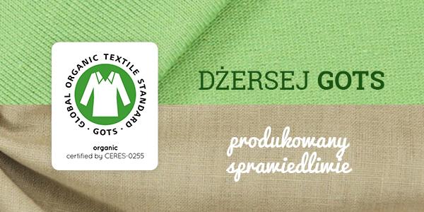 Dżerseje produkowane w Niemczech i z certyfikatem GOTS