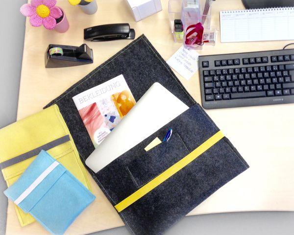 Näh deine eigene Laptoptasche - individuell passend für die Maße deines Laptops oder E-Book Readers!