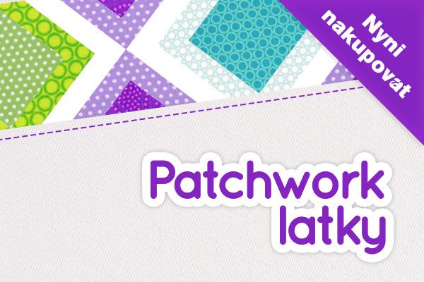 Opravdu velký výběr bavlněných látek pro patchwork na latka.cz