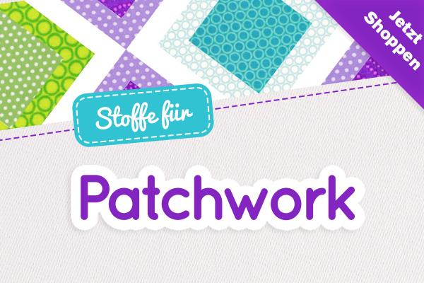 Baumwollstoffe für Patchwork, stoffe.de hat DIE Auswahl