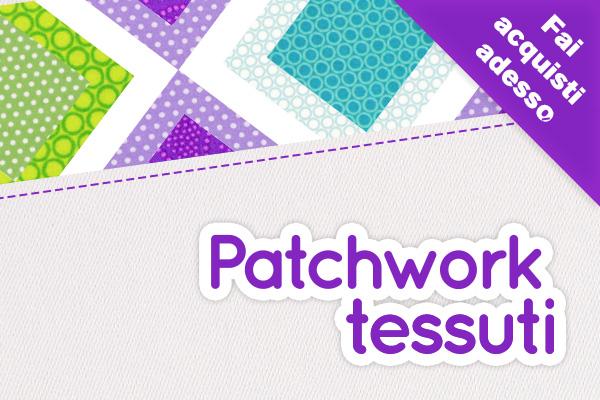 Tessuti in cotone per il patchwork: su tessuti.com trovi LA selezione perfetta