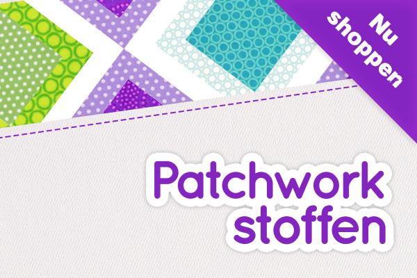 Katoenen stoffen voor patchwork, bij stoffen.NL vindt u DE keuze