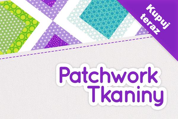 Duży wybór tkanin bawełnianych na patchworki na stronie tkaniny.net