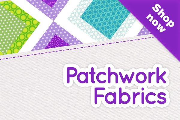 Cotton fabrics for patchwork: myfabrics.co.uk has THE best selection there is!