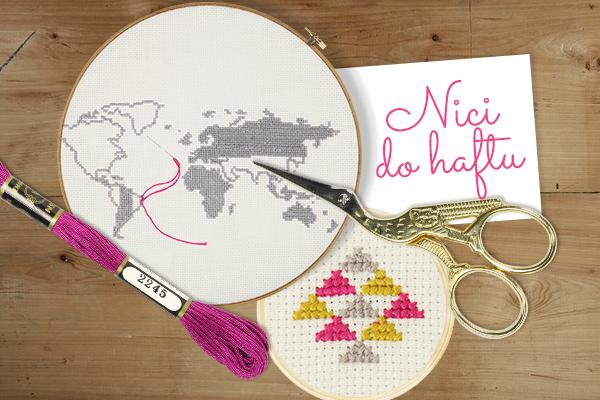 Odkryj w sklepie tkaniny ponad 400 kolorów nici do haftowania
