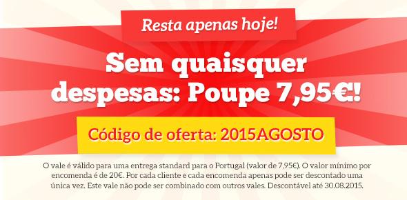 Campanha de custos de envio grátis na tecidos.com.pt - poupe nos custos de envio só até hoje