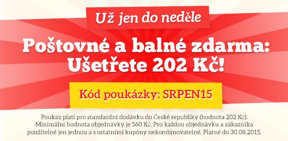 Akce na poštovné a balné na latka.cz - poštovné a balné můžete ušetřit už jen do neděle