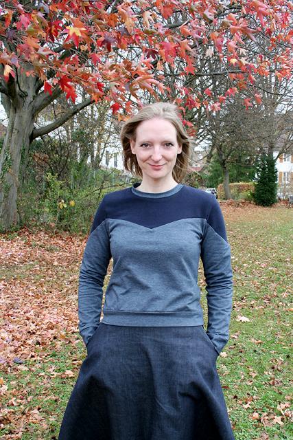 Im Blogporträt: Melanie von 500daysofsewing.de