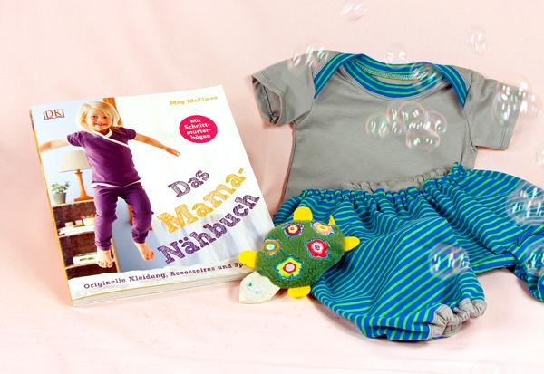 Buch des Monats mit Verlosung: Das Mama-Nähbuch bei stoffe.de