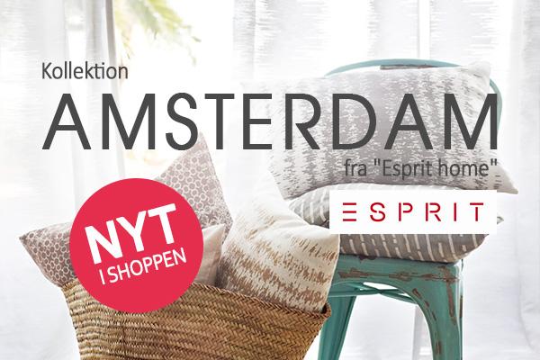 Esprit til dit hjem: Kollektionen Amsterdam skaber begejstring