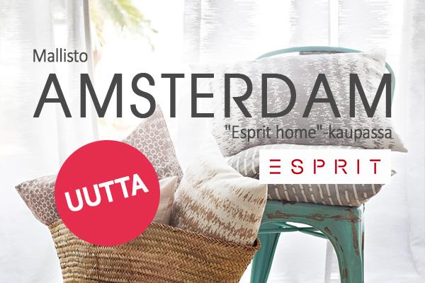 Esprit asuntoosi: Amsterdam-mallisto ihastuttaa