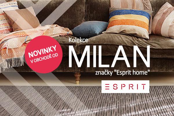 """Úžasná kolekce """"Milan"""" značky Esprit"""