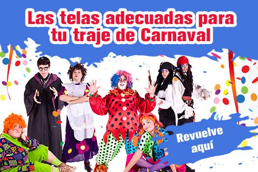 Para los amantes del carnaval: Telas para disfraces en telas.es