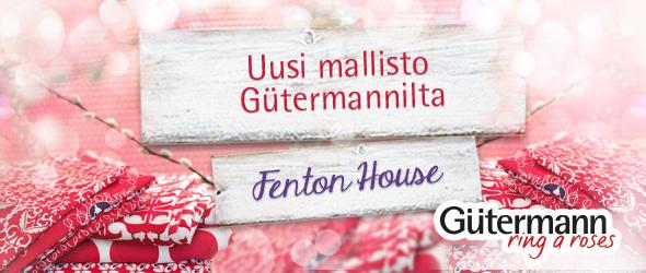 Kankaita, nauhoja, nappeja - uusi Fenton House-mallisto - ring a roses