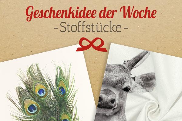 Die Empfehlung von stoffe.de: Stoffstücke mit Tierprints