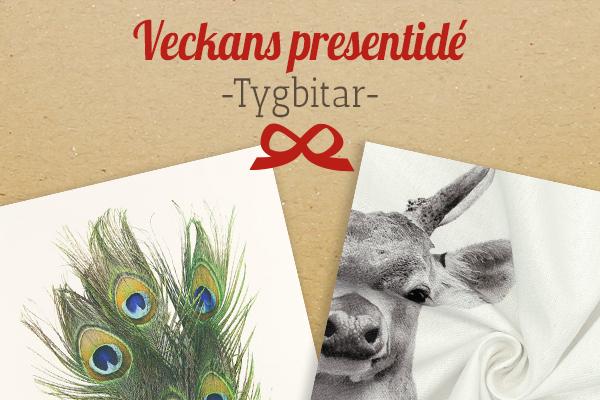 Tyg.se rekommenderar: tygbitar med djurtryck