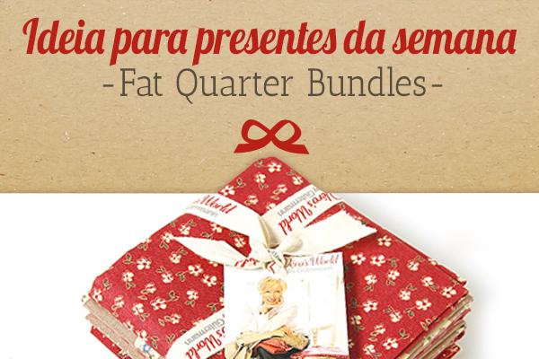 Die Empfehlung von stoffe.de: Fat Quarter Bundles als Geschenkidee