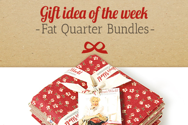 myfabrics.co.uk recommends: fat quarter bundles as an idea for a gift