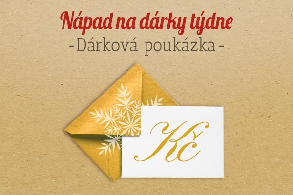 Doporučení od latka.cz: Dárkový poukaz jako nápad na dárek