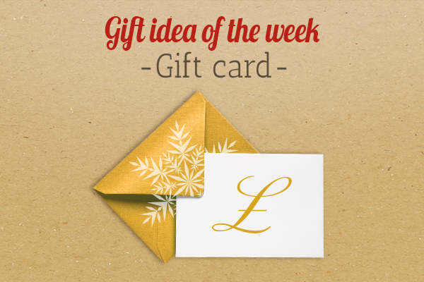myfabrics.co.uk recommends: a gift voucher as a present