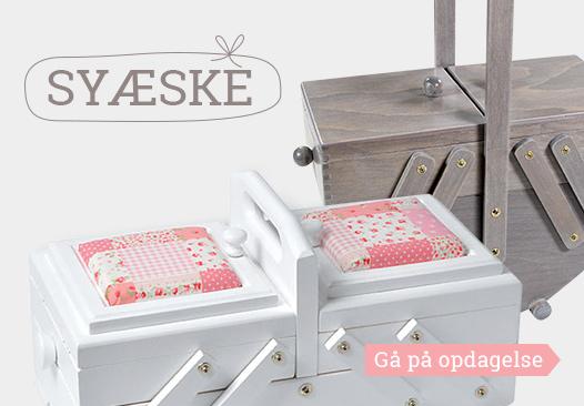 Opdag nu udvalget af syæsker hos stofkiosken.dk!