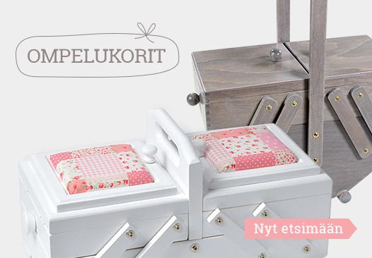 Tutustu nyt ompelukorien valikoimaan kankaita.comissa!
