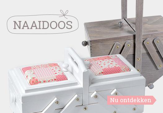 Nu het assortiment naaidozen bij stoffen.net ontdekken!