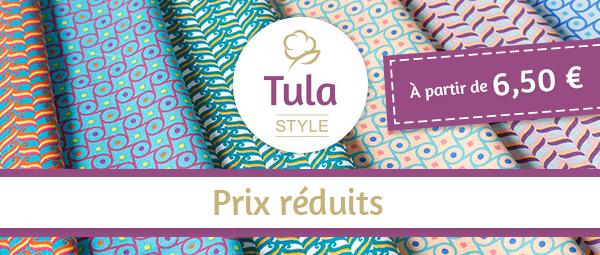 La collection Tula Style pour 6,50 € par mètre !