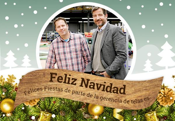 telas.es te deseamos una Feliz Navidad 2015