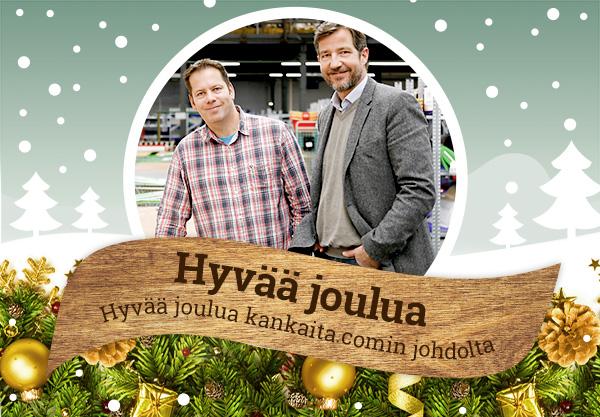 Hyvää joulua 2015 sinulle toivottaa kankaita.com