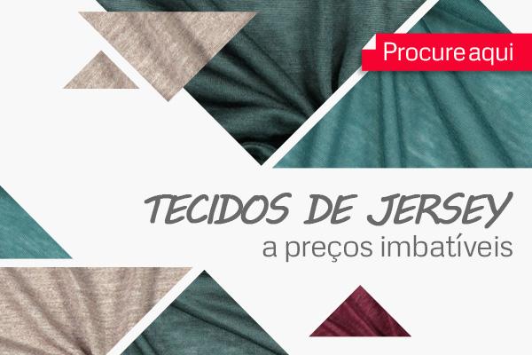 Os tecidos de malha Jersey da tecidos.com.pt a preços reduzidos proporcionam-lhe conforto e comodidade.