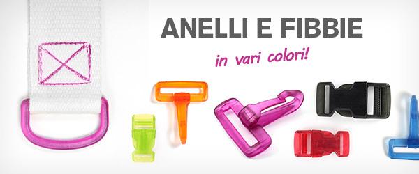 Rosso, giallo, verde. Questi accessori per borse sono disponibili in tantissimi colori su tessuti.com