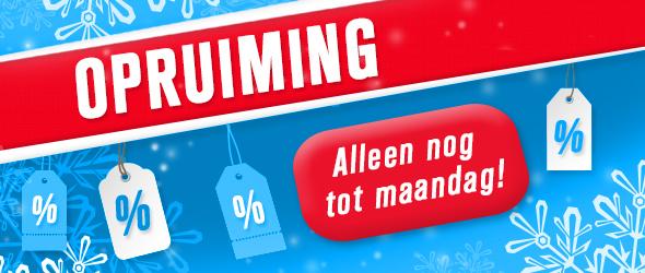 Voor alle koopjesjagers en slimme consumenten - stoffen.net heeft nu winteruitverkoop.