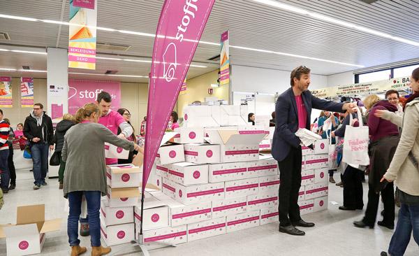 """""""Ich kenne Sie aus dem Internet!"""" – stoffe.de auf der Stoffmesse in Hamburg"""