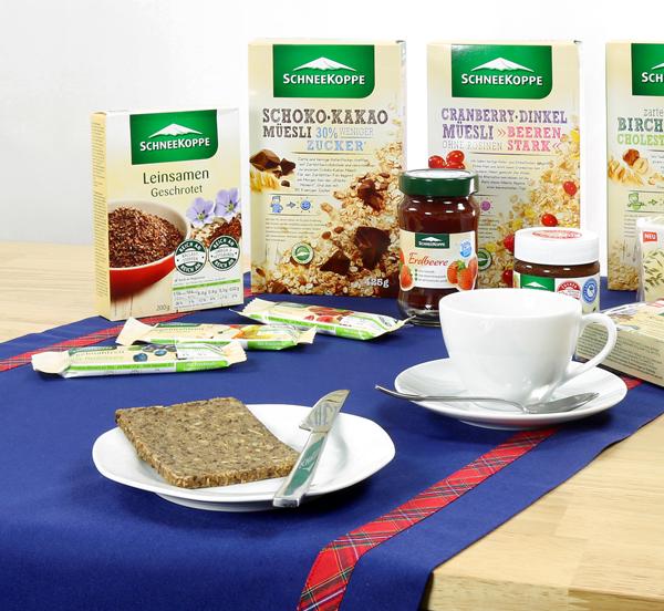 Gewinner ausgelost: Nähpaket für eine Tischdecke und ein Frühstücksset von Schneekoppe