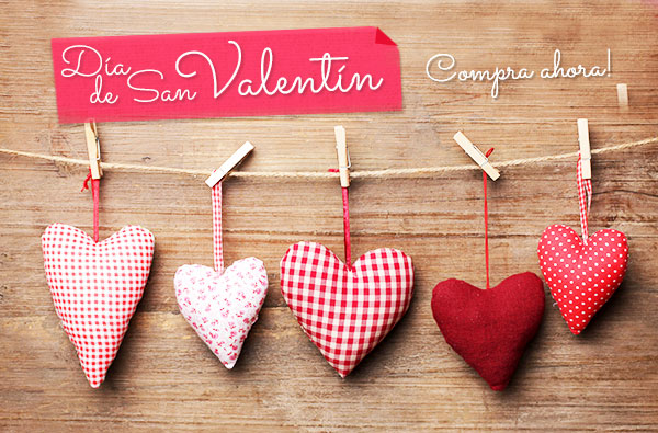 Día de San Valentín 2015: dale rienda suelta a tu creatividad el día del amor.